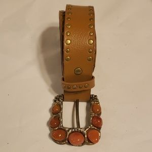 Lake Shore Accessories belt brown leather